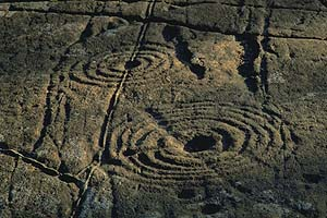 Achnabreck carvings from Kilmartin