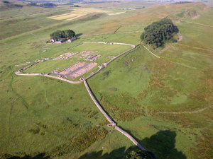 Housesteads Fort from the Air