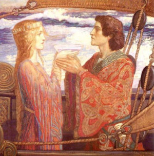 Tristan and Isolde - John Duncan 1912 City of Edinburgh